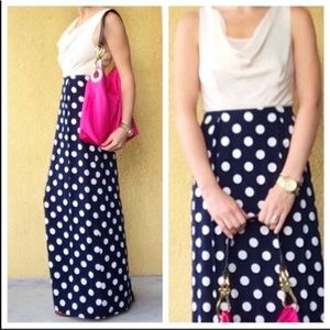 Anthro Moulinette Soeurs Great Dot Maxi Dress 10